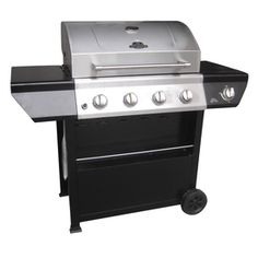 Grill Master 4-Burner Gas Grill - may have to buy this today - it's officially summer, right?