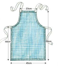 children's apron pattern - Google Search