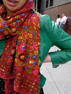 XiaoShop Women Rhinestones Fashionable Embroidered Dubai Islamic Muslim Gown