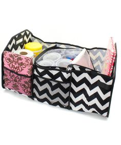 Personalized Trunk Utility Storage Bag Chevron by Millie's Gifts, $33.00