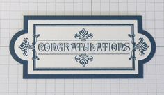 Tuesday Tip: Apothecary Accents Framelit mat  Tuesday, July 10, 2012 Debra Burgin AA #1