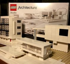 3000 followers! Thank you so much  Throwback pic from my Bauhaus week last year where I recreated architecture from the Bauhaus masters. In this pic: Bauhaus school by Gropius Chamberlain Cottage by Gropius and Farnsworth House by Ludwig Mies van der Rohe.  #lego #architecture #legoarchitecture #gropius #miesvanderrohe #farnsworthhouse #bauhaus #internationalstyle by askansbricks