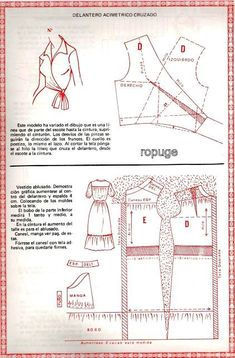 Free Sewing Pattern Draft. This Is Very Pretty. I Hope I Have The Skills To Make it!