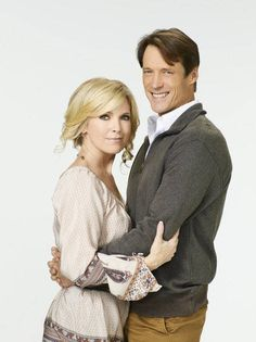 Melissa Reeves and Matthew Ashford, Jack and Jennifer on Days of Our Lives