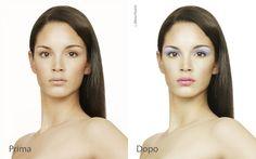Per passare il tempo! Test fotoritocco trucco viso. #moda #modelle #trucco #test #photoshop
