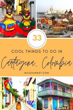 33 COOL THINGS TO DO IN CARTAGENA COLOMBIA! #cartagenacolombia #cartagena #colombia #colombiatravel #southamerica #colombian #cartagenatravel #visitcartagena #solotravelcolombia #thingstodocartagena #caribbeancolombia #caribbeansea Visit Colombia, Colombia Travel, Peru Travel, Mexico Travel, India Travel, Usa Travel, Solo Travel, South America Destinations, South America Travel