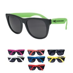 Rubberized Promotional Sunglasses
