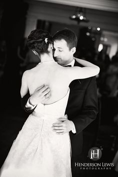 Henderson Lewis Photography - Wedding reception first dance at Wyckliffe House, Charleston, South Carolina