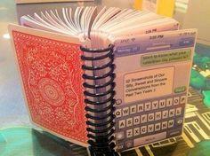 Photo book. Cute idea for an anniversary gift.