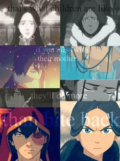 Zuko Katara; For the Love of a Mother