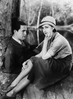 "Chester Morris and Norma Shearer in ""The Divorcee"" (1930) Norma Shearer - Best Actress Oscar 1929-30"