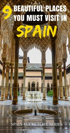 There are some things you must do in Spain before you die. From La Alhambra to Las Fallas, I breakdown the experiences you must have when you visit Spain - the ultimate Spain bucket list. This is a list of 9 beautiful places you must visit in Spain! Click to found out what makes these Spanish destinations stand out.