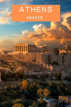 As one of the oldest cities in the world, Athens is an amazing city. Follow in the footsteps of Ancient Greeks and discover the past. There are many things to do in Athens and this quick guide to Athens will help you make the best of your time there.   #greece #athens #history #kasiawrites #culturaltravel