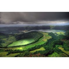 Mountain Landscape In The Azores #Portugal