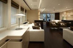 interiors of luxury yachts | ... Luxury Yacht Lady L Interior - 44m Lady L Superyacht by Heesen Yachts