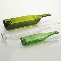 objektkunst recycling vasenset 5 st ck decorate pinterest vase flaschen und wein. Black Bedroom Furniture Sets. Home Design Ideas