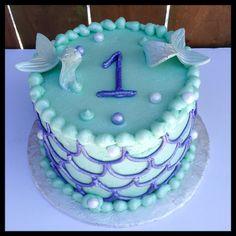 Mermaid Smash Cake                                                                                                                                                     More