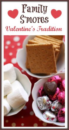 Tips to enjoying Family Valentine S'mores indoors!  Make the kids part of your fun.