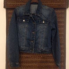 Jean Jacket Great jacket for spring. Excellent condition. Price is great. Jackets & Coats Jean Jackets