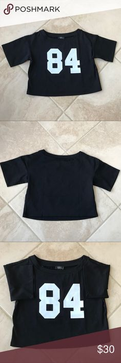 A.B.S by Allen Schwarz Crop Top A.B.C by Allen Schwartz crop top brand new with tag❤️ A.B.S by Allen Schwartz Tops Crop Tops
