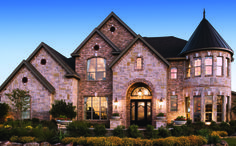 Toll Brothers' Vinton Renaissance home design at Terracina, TX - featuring Progress Lighting fixtures