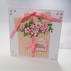 Craftwork card flowers