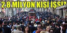 2,8 MİLYON KİŞİ RESMEN İŞSİZ - TürkCom.Com