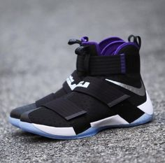reputable site 69469 a2d91 The Nike LeBron Zoom Soldier 10 in a space jam-inspired colorway is  showcased. Stay tuned to KicksOnFire for a release date.
