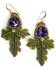 Jeweled Earrings ©2012 by Cynthia Rutledge
