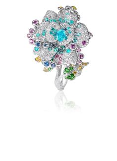 Gorgeous flower ring.