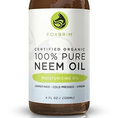 100% Pure Organic Neem Oil - Nutrient Rich Oil For Hair >>> Check out this great product.