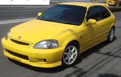 INFO GUIDE: 1997 - 2000 Honda Civic Type R (EK9) | classicregister 2000 Honda Civic, Honda Civic Hatchback, Honda Civic Type R, Toyota Cars, Auto Toyota, Paint Color Codes, Ek Hatch, Seam Welding, Japanese Domestic Market