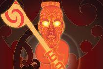 Tumatauenga - Maori Gods series - by Hika Taewa. Son of Rangi & Papa, Tu is the Maori God of War. All war parties were dedicated to him & he was treated with respect & awe.