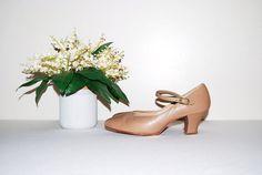 Vintage Dance Shoe by CheekyVintageCloset on Etsy, $18.00