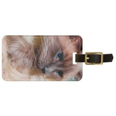 RAGDOLL LUGGAGE TAG