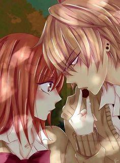 Namaikizakari - shoujo hearts - old Manga Couple, Anime Love Couple, Cute Anime Couples, Anime Kiss, Anime Manga, Amazing Drawings, Art Drawings, Manhwa, Naruse Shou