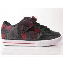 8558363218 CIRCA Shoes    C1rca 205 Vulc Shoe Black hunter Plaid