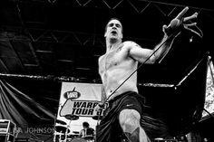Henry Rollins at Warped Tour.