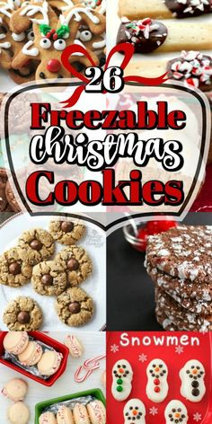 This collection of melt in mouth 26 Freezable Christmas Cookies are a perfect way to get a head start on the holiday season! This collection of melt in mouth 26 Freezable Christmas Cookies are a perfect way to get a head start on the holiday season! Chocolate Marshmallow Cookies, Chocolate Chip Shortbread Cookies, Toffee Cookies, Spritz Cookies, Chewy Ginger Cookies, Freezable Cookies, Quick Cookies, Yummy Cookies, Freezer Cookies