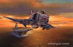 Launch At Sundown by Philip West