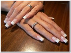 Of course, the white tip is the most well-known and probably well-worn design when it comes to French manicures. Description from inkyournail.com. I searched for this on bing.com/images