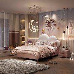 Kids Bedroom Designs, Room Design Bedroom, Kids Room Design, Room Ideas Bedroom, Home Room Design, Luxury Rooms, Luxurious Bedrooms, Master Bedroom Interior, Luxury Kids Bedroom