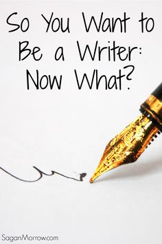 So you want to be a writer... NOW what?! Find out my best tips for becoming a writer (based on my years of experience as a professional writer & blogger!). This article includes the cold, hard truth that no one's told you yet about writing... and it will help you become a GREAT writer.