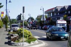Downtown Comox, BC