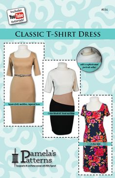 Classic T-Shirt Dress/Sewing With Nancy/Pamela Leggett/Nancy Zieman