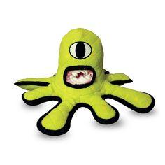 Tuffy Green Alien Dog Toy  #Tuffys #DogToy #Dogs #Pets #Alien