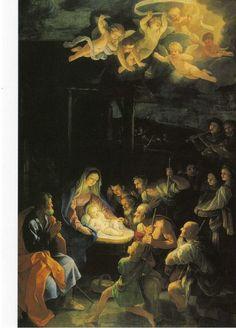 A Adoração dos Pastores - Guido Reni 1575-1642, National Gallery, Londres