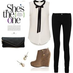 Cute and Classy- want this outfit!