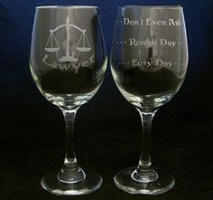 (20 Ounce) Lawyer Good Day Bad Day Don't Even Ask Large Wine Glass *** Insider's special review you can't miss. Read more  : Handmade Gifts