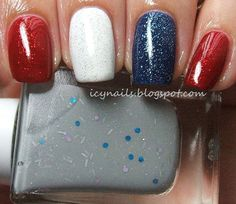 Ice Queen& Nail Parlour: Nails Go Red, White and Blue Pedicure Nail Art, White Pedicure, Manicure, Usa Nails, Patriotic Nails, Queen Nails, Red Nail Designs, Pedicure Designs, 4th Of July Nails